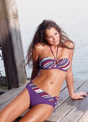 Bandeau bikini Nickey Nobel 27112