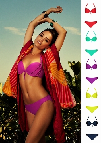 Lingadore Bahama bikini 2512 in aardbei rood