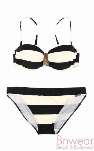 Olympia bandeau bikini met softcups 31231