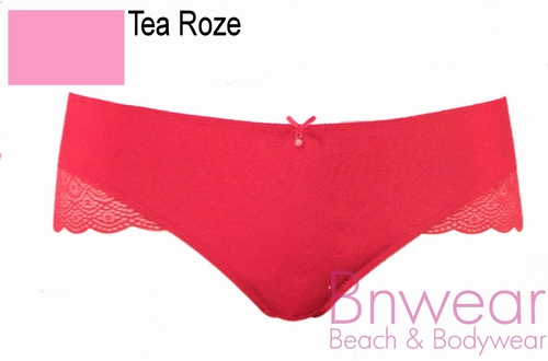 Slip Luna in tea roze en wit 144162