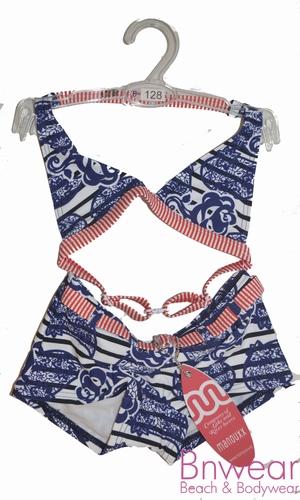 Halter bikini met shortje voor meisjes 29862