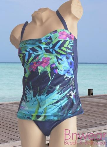 Tankini Bnwear bandeau model front gevoerd