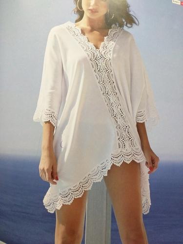 Isabel Mora blouse in wit en zwart