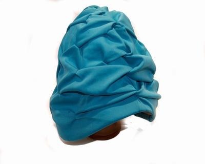Badmuts van Beco in turquase stof