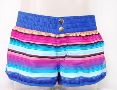 Shiwi beach-short blue stripe