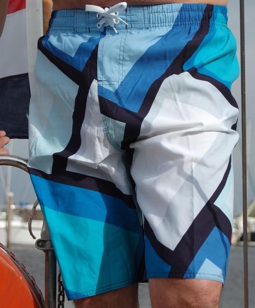 Heren zwemshort shiwi Blue stripe t/m xxl