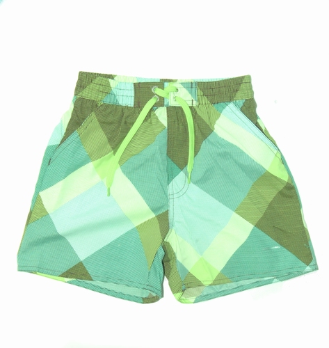 Nickey Nobel zwemshort in groen/blauw
