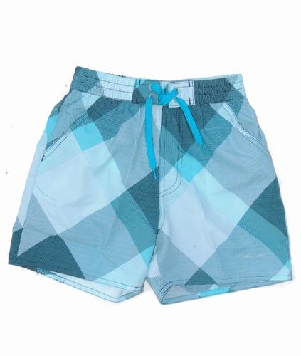 Nickey Nobel kinder zwemshort in blauwe print