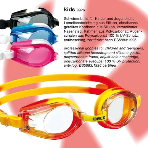 Zwembril/goggle voor kinderen van beco
