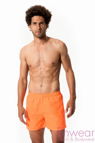Zwemshort in oranje in kort model
