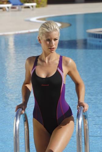 Sport badpak van Olympia chloor resistant