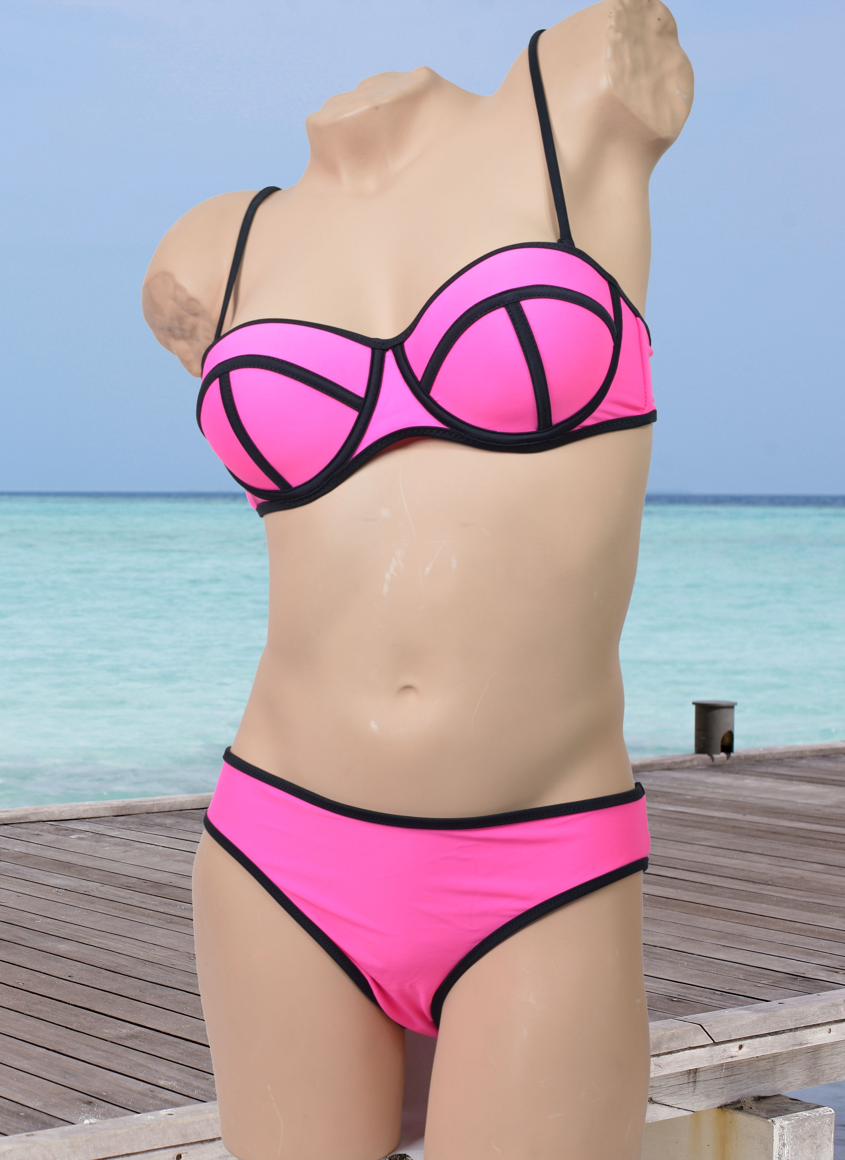 Bikini design in diverse kleuren Triangl