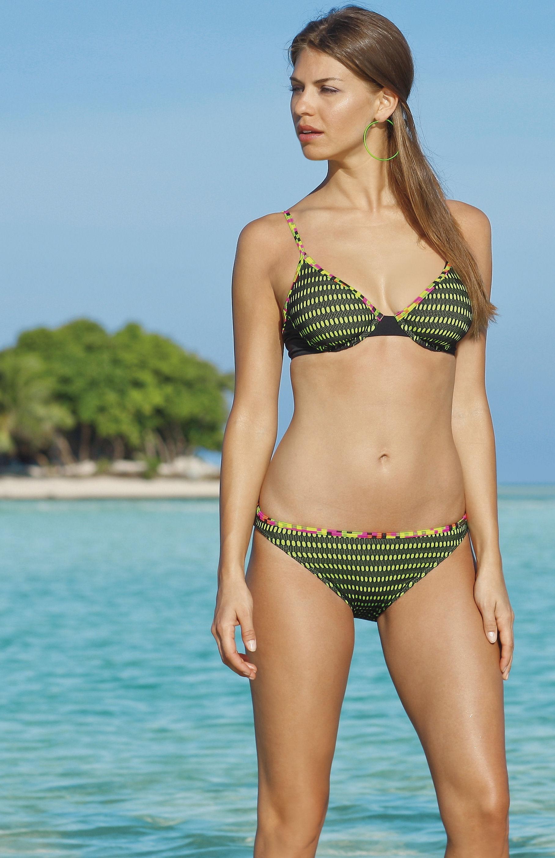 bikini met beugel in b,c,d,e-cup olympia green