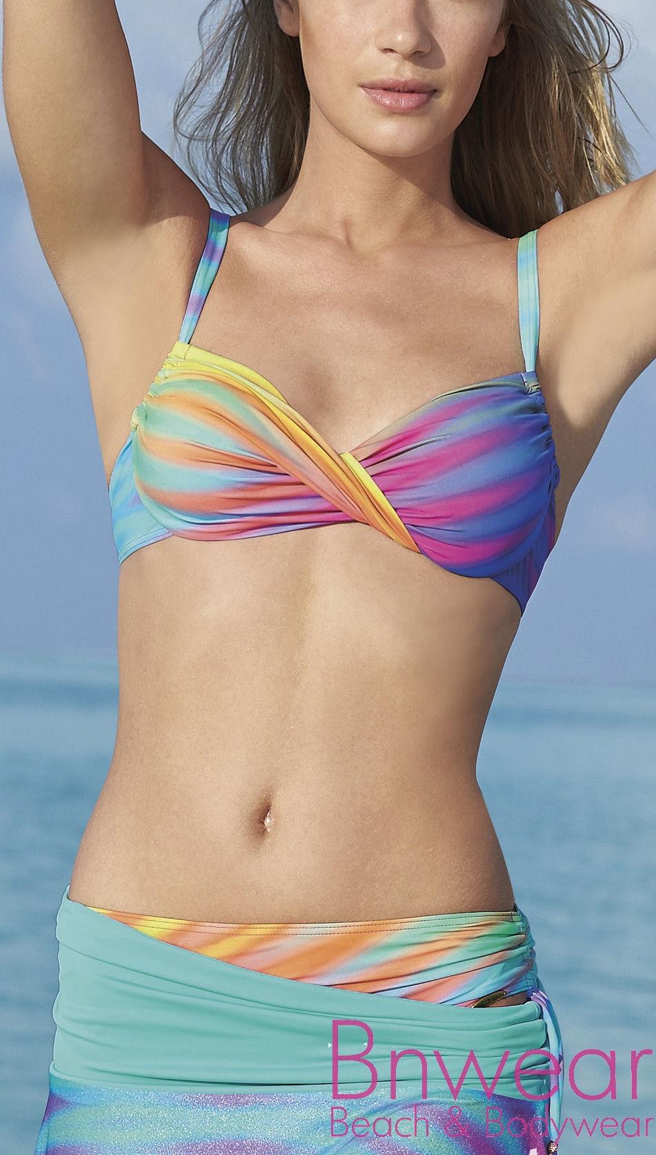 Bikini rainbow dots Sunflair 21139