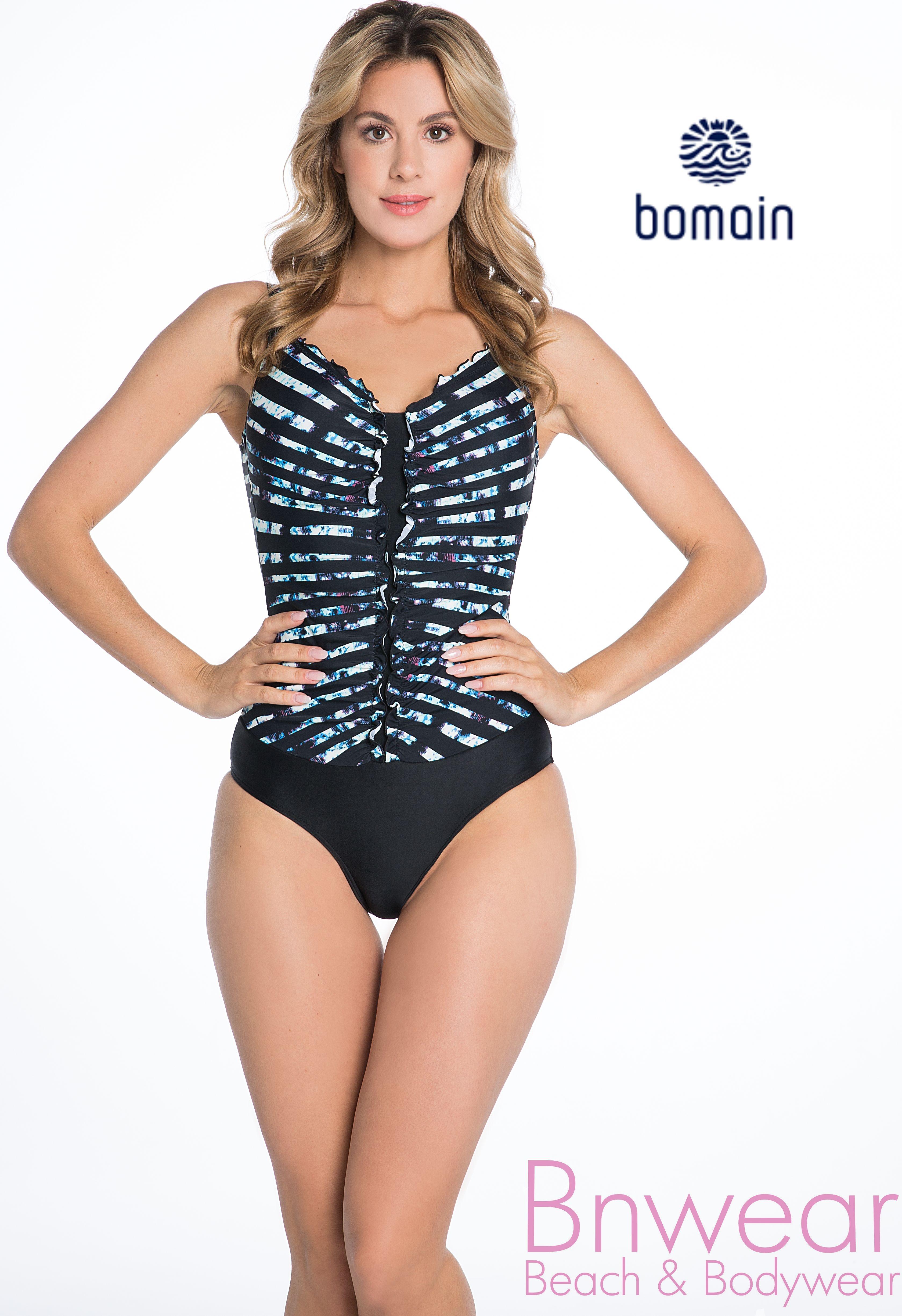Bomain badpak 21015 40-48 in blue/black powernet