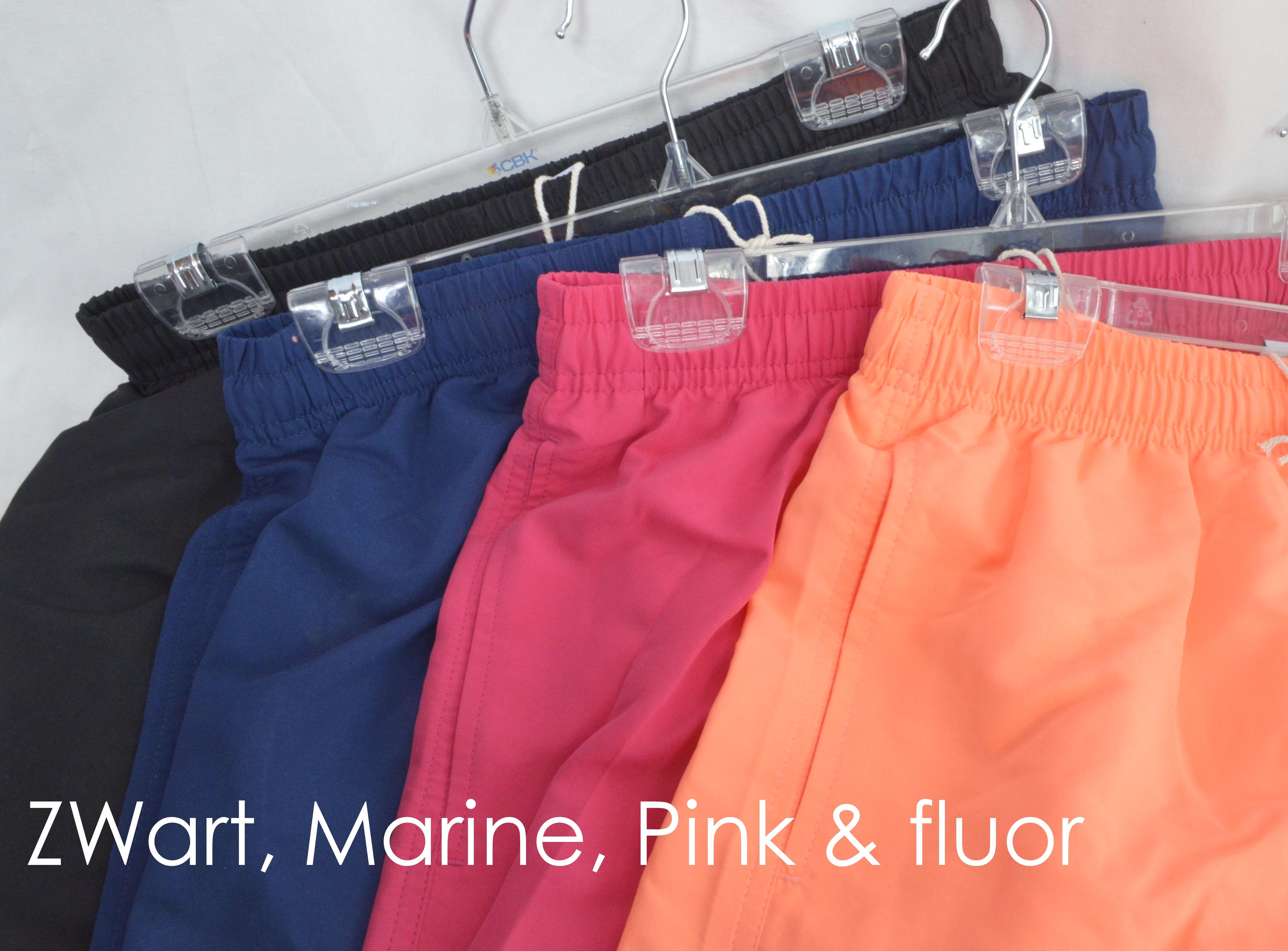 heren zwemshort in vlotte effen kleuren van CBK