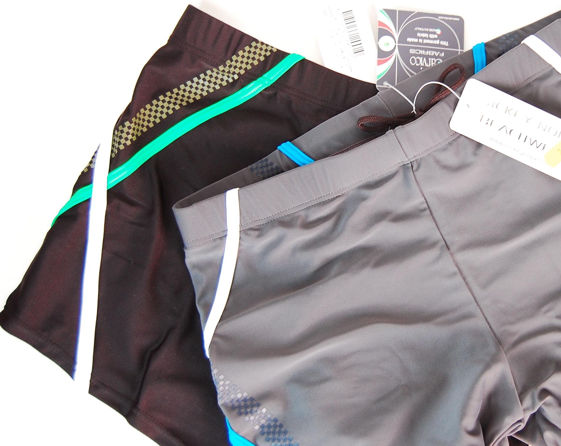 Nickey Nobel zwem boxershort in grijs.