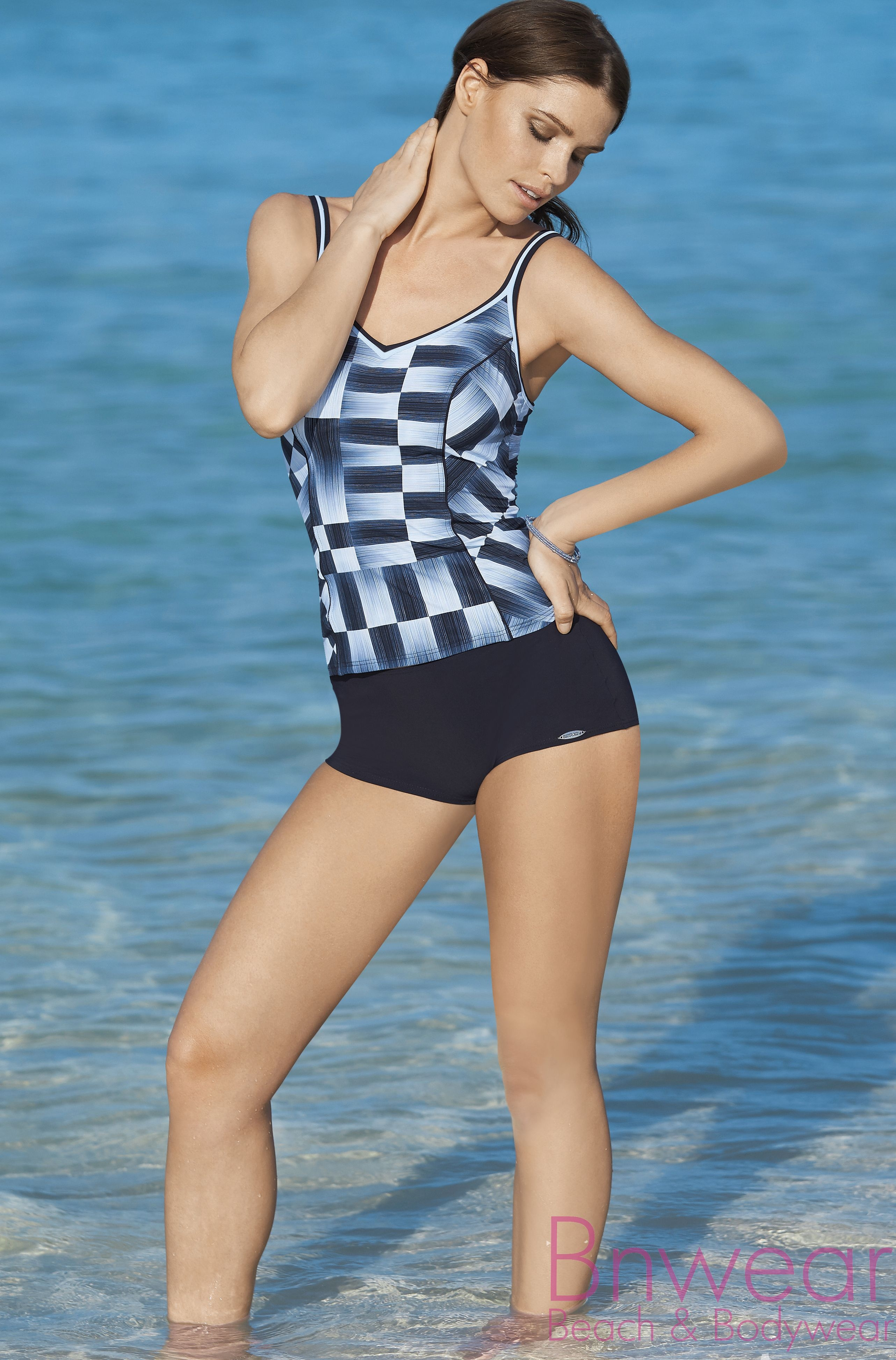 Tankini met shortje sunflair 28025 Jeans n Chess