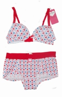 Butterfly Boobs & Bloomers Set met boxer