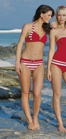 Sunflair bikini met softcups in rood design 21292